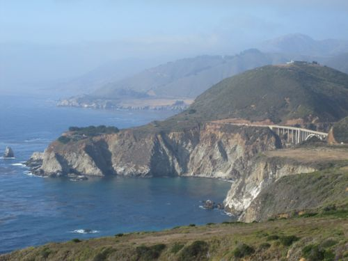 View of Bixby Bridge